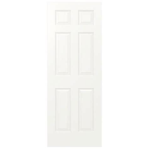Painting 6 Panel Interior Doors Masonite 30 In X 80 In Textured 6 Panel Hollow Primed Composite Interior Door Slab 16474