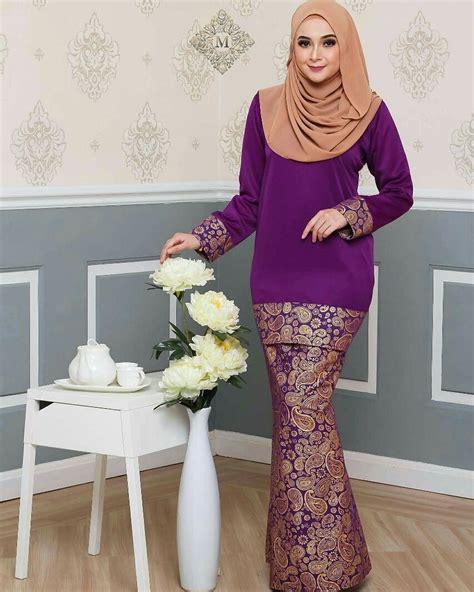 design baju untuk kain songket 17 design baju kurung pahang moden casual stylish fesyen
