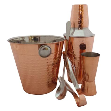 cocktail set apollo copper cocktail gift set drinkstuff