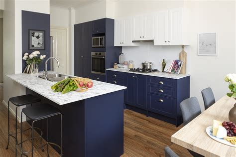 blue crush kitchen inspiration  ideas kaboodle kitchen