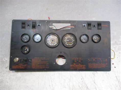1989 regal medallion 185 boat dash panel gauges instrument - Regal Boats Gauges