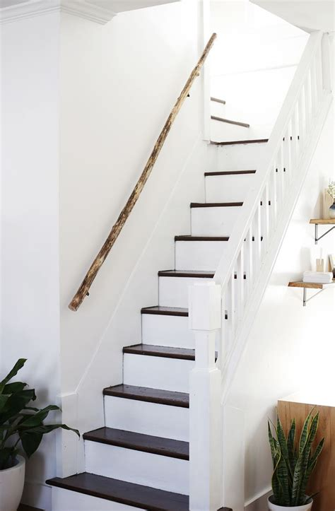 Wooden Stair Banisters Best 25 Wood Handrail Ideas On Pinterest E Amp M Stairs And