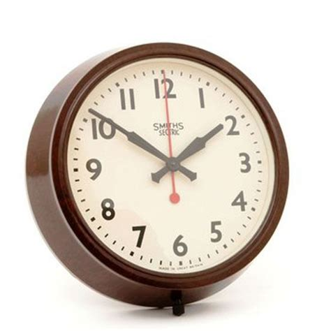 best wall clock 1956 smiths sectric clock from pedlars wall clocks 10