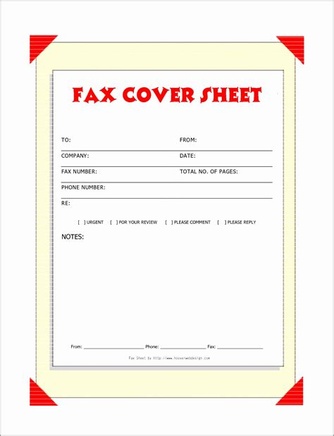 6 Fax Cover Sheet Template For Mac Templatesz234 Letter Templates For Mac