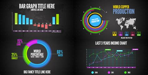download template after effects motion graphics infographics by doren videohive