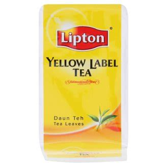 Teh Lipton Yellow Label Tea teh uncang serbuk aku beli aku update
