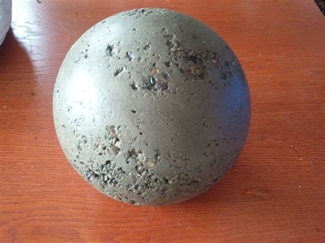 making concrete balls do it yourself