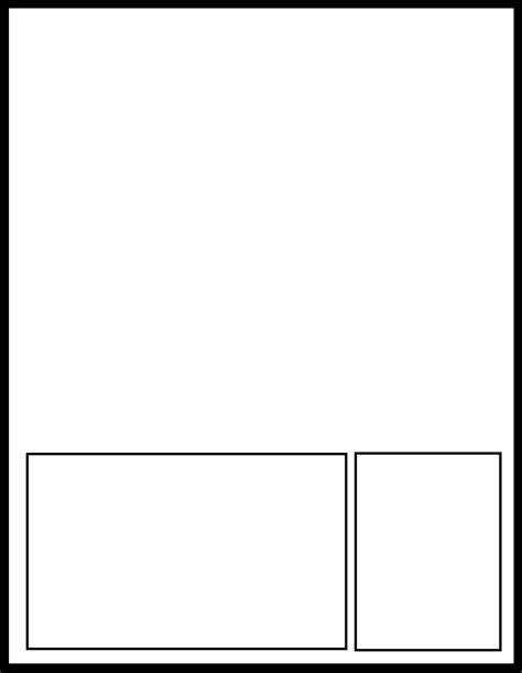 simple pages by comic templates on deviantart