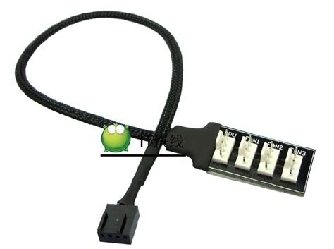 pc fan power splitter 4pin fan splitter reviews online shopping 4pin fan
