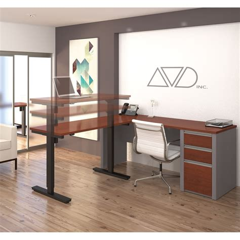 Connexion Office by Connexion L Desk Including Electric Height Adjustable