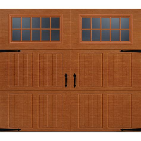 8 Foot Garage Door by Enlarged Image