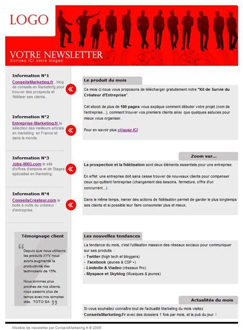 conseilsmarketing fr 18 mod 232 les de newsletter gratuits