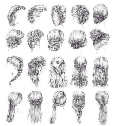 cute easy hairstyles to draw oh my goodness i can finally draw cute hairstyles