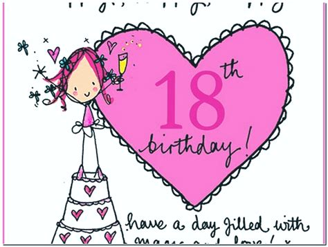Happy 18 Birthday Wishes Sweet Happy 18th Birthday Wishes With Images Wishesgreeting