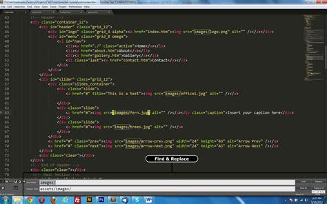 Sublime Text Html Template integrating a template into modx part 1 cmstricks