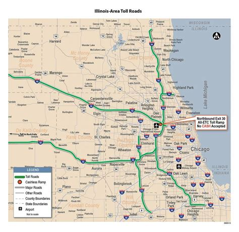 map of toll roads in usa miami toll roads map