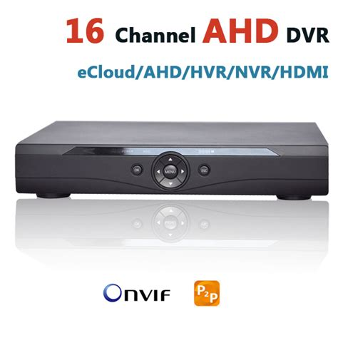 Dvr Cctv 4 Channel H264 Analog 1 aliexpress buy ahd dvr 16 channel security