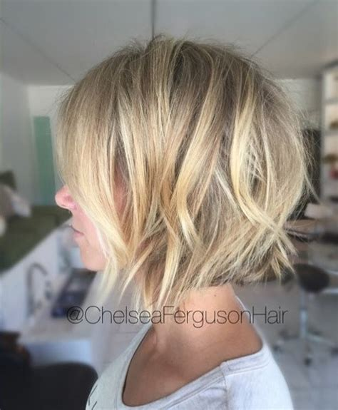womens textured piecey bob haircut 50 best short bob haircuts and hairstyles for women in 2018