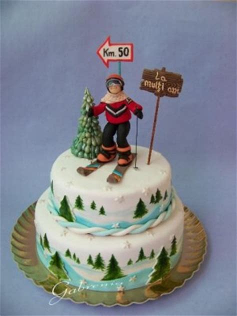 The Best  Ee  Birthday Ee   Cakes For Skiers I Love To Ski And Board