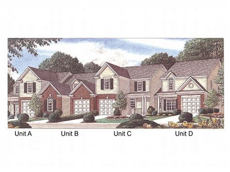 townhouse designs plan 011m 0002 find unique house plans home plans and