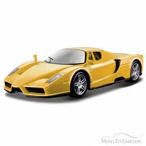 enzo top yellow bburago 26006 1 24 scale