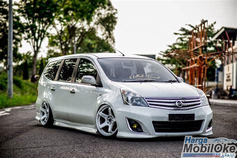 modified grand livina bodykit design for nissan modifikasi mobil nissan grand livina mpv indonesia keren