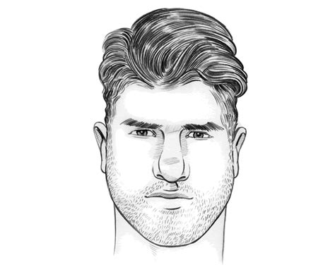 men hairstyles for pear face shape how to choose the right haircut for your face shape