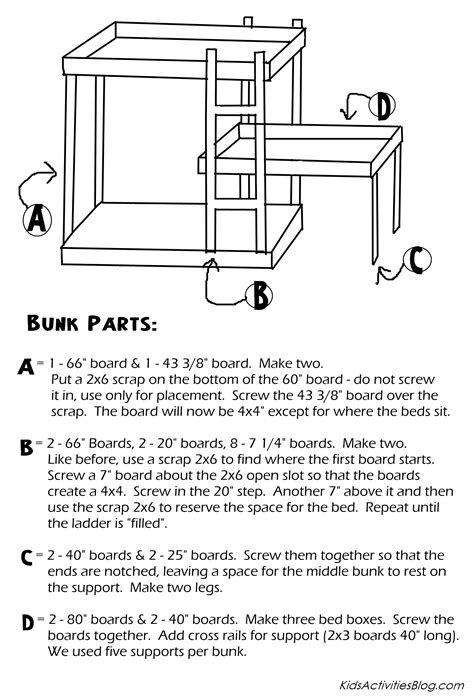 futon design bunk bed plans pdf bed plans diy blueprints