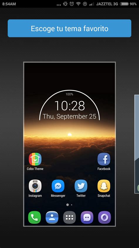 cobo launcher themes download cobo launcher easily diy theme aplicaciones para android