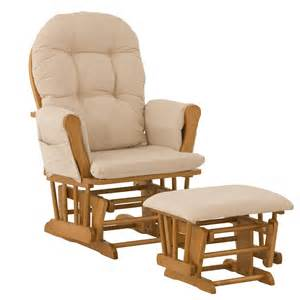 Glider Rocker With Ottoman Dorel Home Furnishings Glider Rocker Ottoman Espresso Baby Baby Furniture Gliders