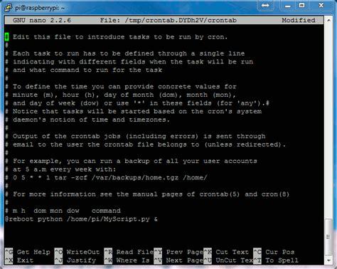 the open boat criticism come avviare programma python all avvio del raspberry pi