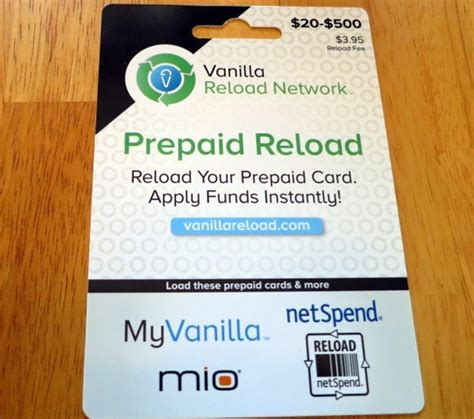 Vanilla E Gift Card - how to get and use a vanilla reload