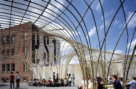Home Theater Interiors canopy at moma ps1 architect magazine narchitects new