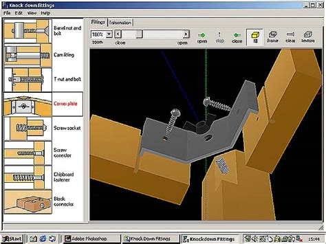 woodwork drawing software design technology wood joints by focus educational software