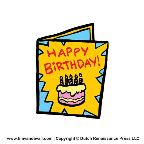 Birthday Card Template Clipart by Birthday Cards Clipart Clipart Best