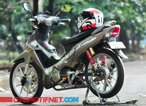Noken As Faito Racing Supra X 125 2 modifikasi honda supra x 125 futuristik ridergalau