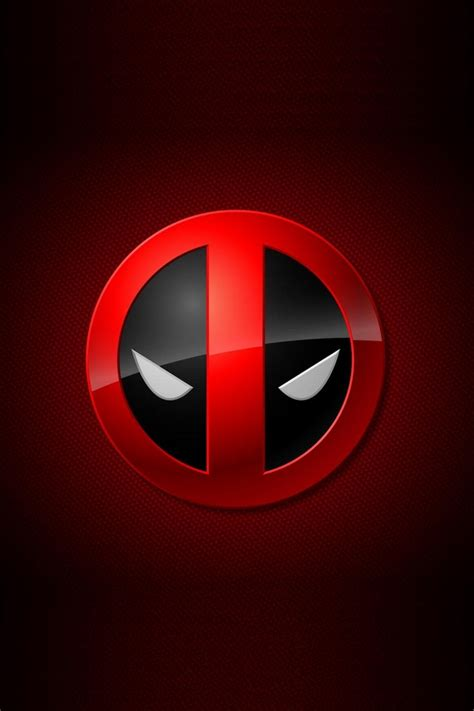 deadpool logo  iphoneipod touchandroid wallpapers backgroundsthemes