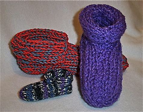 ravelry slipper socks on the knifty knitter loom pattern ravelry loom knit made to fit double knit slippers