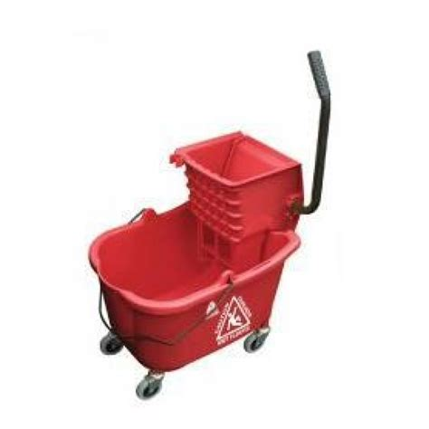 bathtub mop red hospital bathroom mop bucket