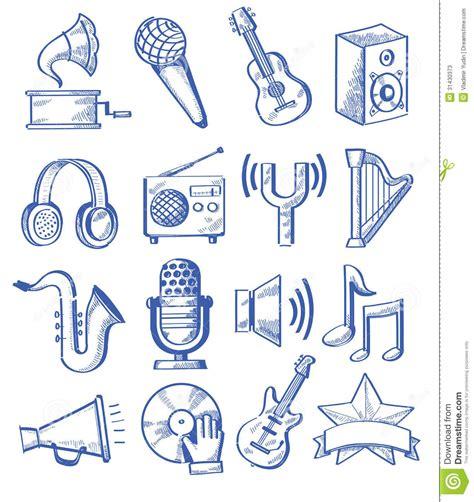 hand drawn music stock photos image 31430373