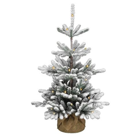 3ft hton spruce potted feel real artificial christmas tree 3ft pre lit battery operated snowy imperial blue spruce burlap feel real artificial