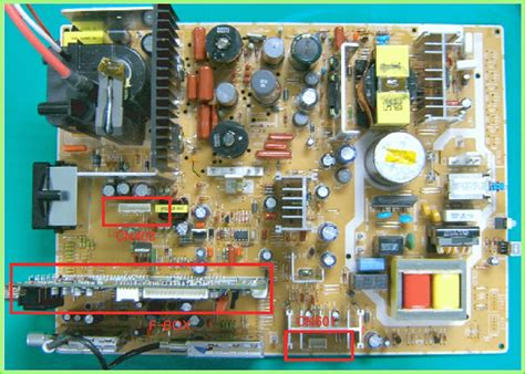 Mainboard Monitor Crt Normal electro help