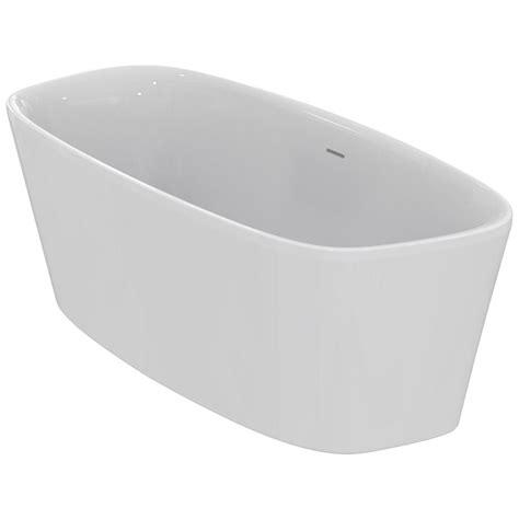 ideal standard e3067 duo freestanding bathtub 180 x 80 cm