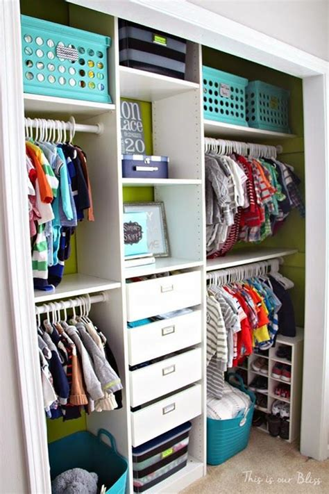 How To Organize Toddler Closet by How To Organize A Closet