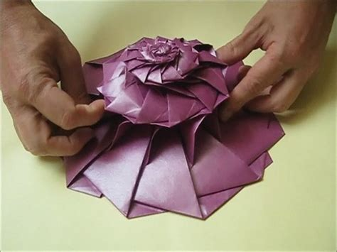 Complex Origami Flower - what are some or complex origami models for