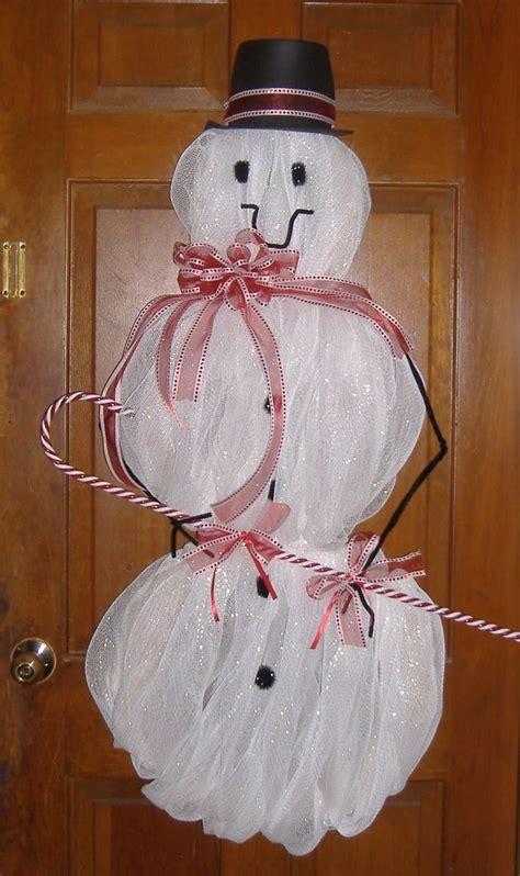17 best images about diy snowman mesh on