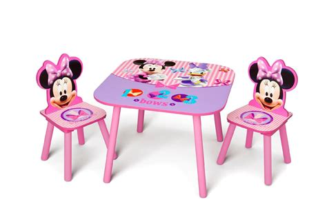 Minnie Table And Chair Set delta children minnie mouse table chair set baby