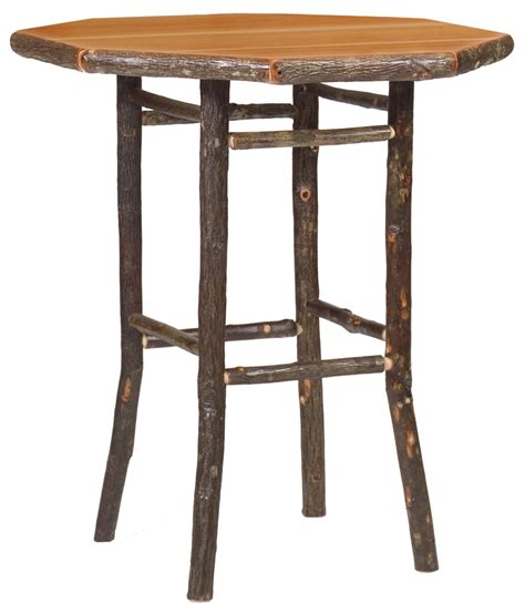 Rustic Bar Table Cottage Hickory Pub Table Rustic Furniture Mall By Timber Creek