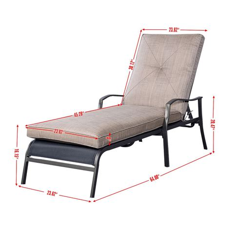 outdoor reclining chaise lounge affordable variety outdoor patio adjustable cushioned pool