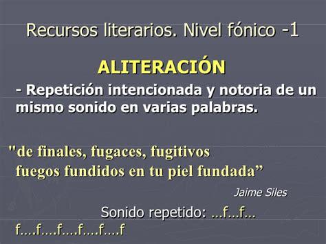 Recursos Literarios 1 | recursos literarios